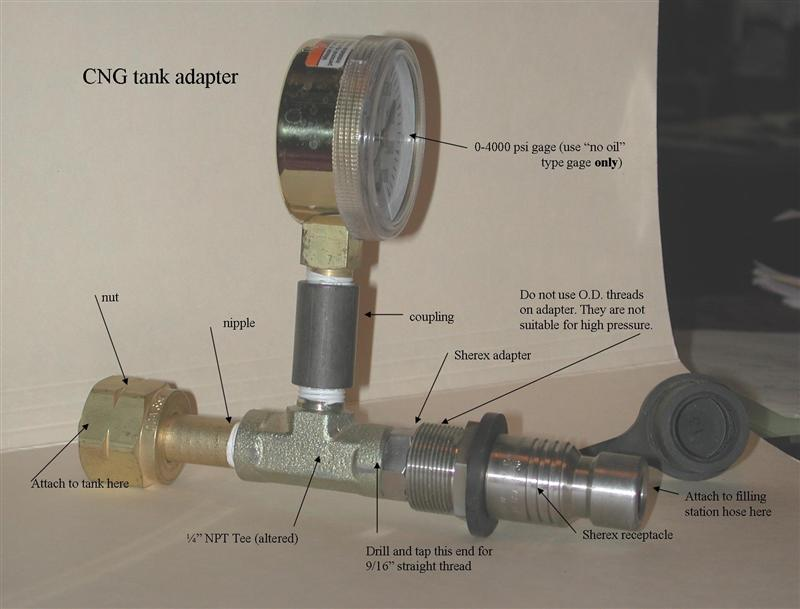 CNG Refill Adapter - c34 org